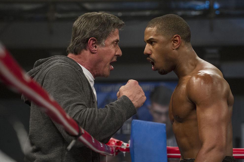 <p>DEN GAMLE MANNEN OG UPPERCUTEN: Sylvester Stallone (til venstre) og Michael B. Jordan i «Creed – The Legacy Of Rocky».</p>