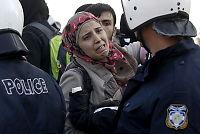 Kvinner på flukt gjennom Europa blir utsatt for overgrep