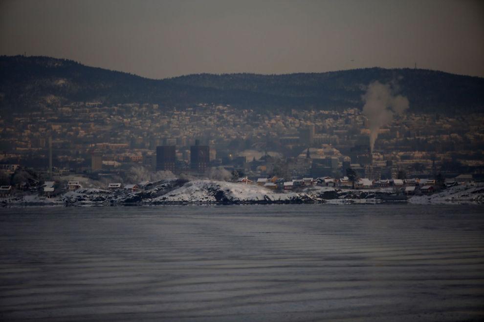<p>SKADELIG LUFT: Luftforurensingen har ligget på et svært høyt nivå over Oslo og andre byer på Østlandet den siste uken.</p>