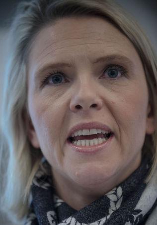 <p>STRAMMER GREPET: Innvandrings- og integreringsminister Sylvi Listhaug.<br/></p>