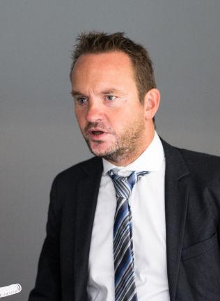 <p>Administrerende direktør Geir Ove Ystmark i Sjømat Norge i NHO.</p>