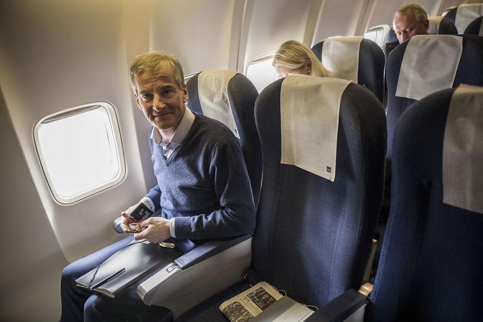 KRITISK: Ap-leder Jonas Gahr Støre er på vei til Davos. Han er kritisk til to av regjeringens 40 punkter til innstramminger i asylpolitikken, fordi de vil svekke integreringen.