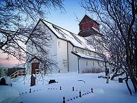 Asylsøkere har søkt tilflukt i kirke i Kirkenes