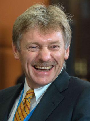 <p>HUMOR: Kremls talsmann Dmitrij Peskov avviser den britiske rapporten som en «vits».<br/></p>