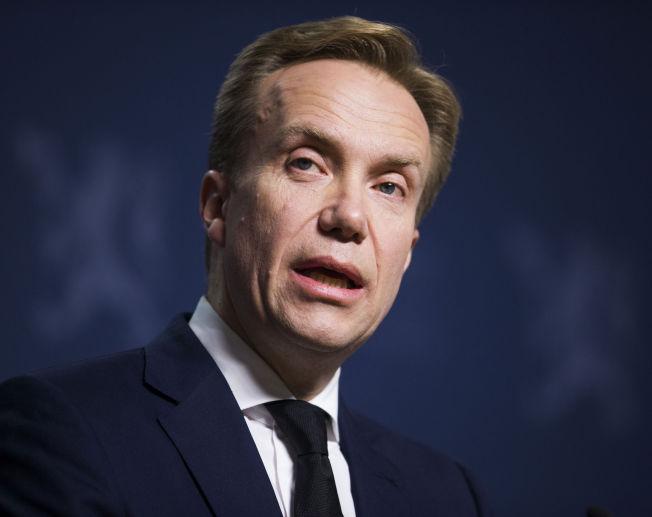 <p>FIKK TELEFON: Utenriksminister Børge Brende (H) fikk telefon fra Moskva på fredagskvelden.</p>