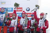 «Reserve-Norge» tok 3. plassen på staffetten uten Svendsen og Tarjei Bø