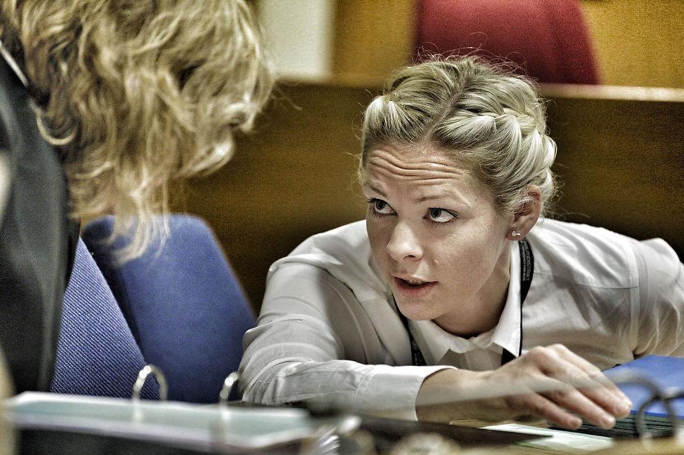 <p>I RETTEN: Politiadvokat Camilla Ek Sørensen (t.h.) ved Øst politidistrikt fører saken for påtalemyndigheten. Advokat Siv Hallgren ved Advokatfirmaet Elden er bistandsadvokat for den fornæremde eks-samboeren til voldstiltalte Jaysuma Saidy Ndure (32).</p>