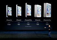 Historisk lav salgsvekst for iphone