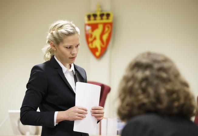 <p>AKTOR: Camilla Ek Sørensen i Nedre Romerike tingrett spurte tiltalte Ndure om hvorfor ekssamboeren ringte politiet, dersom han ikke hadde vært voldelig.</p>