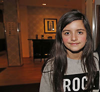 Chris Brown: Norske Angelina Jordan (10) er en ny Amy Winehouse