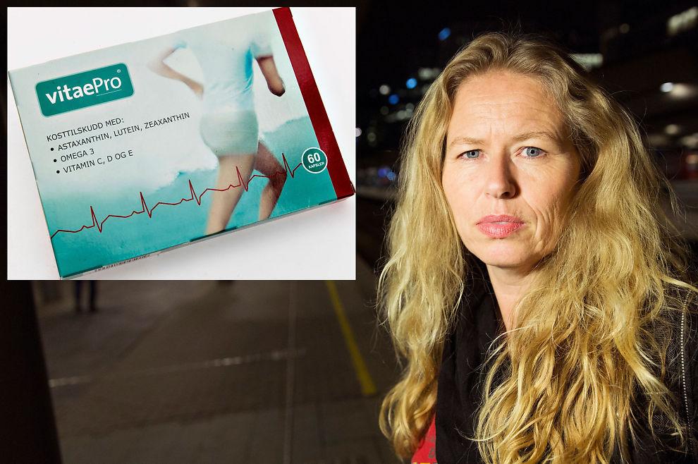 <p>OMSTRIDT: Generalsekretær Tone Granaas i Norsk Revmatikerforbund har lenge hatt et samarbeid med Vitaepro, og anbefaler kosttilskuddet til sine medlemmer.</p>