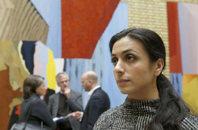 <p>SMS-SVAR: Ap-nestleder Hadia Tajik deltok på rabaldermøtet, men ville svare skriftlig på spørsmål om bråket. Her etter et tidligere møte om asylpolitikk i Stortinget.<br/></p>