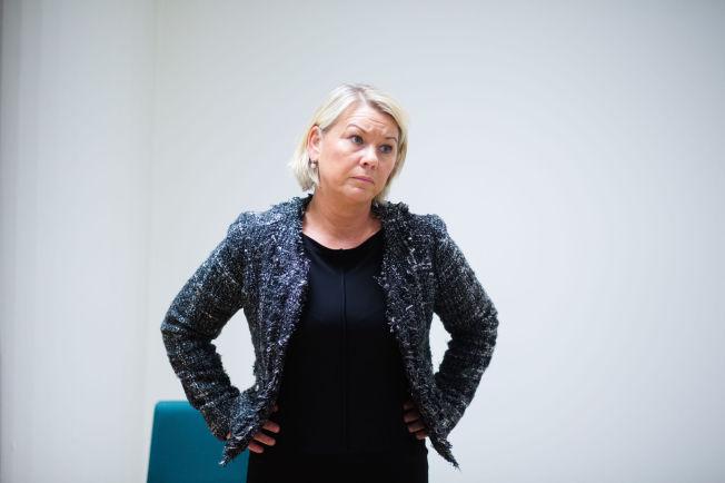 <p>IKKE FORNØYD: Utspillet til næringsminister Monica Mæland kunne nærmest tolkes som en ordre om å tilsette en kvinnelig konsernsjef.</p>