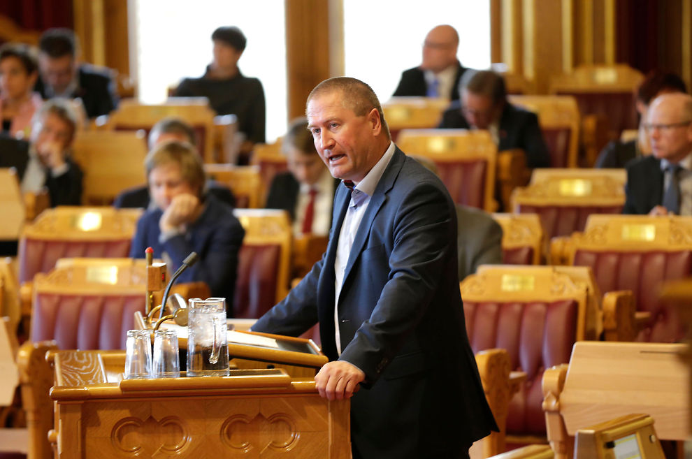 <p>ØNSKER MAMMALØFT: Geir Jørgen Bekkevold (KrF) vil ha med seg regjeringspartiene og et stortingsflertall på å firedoble engangsstønaden til nybakte mødre.</p>