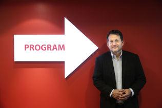 <p>KRITISK: TVNorge-sjef Harald Strømme.</p>