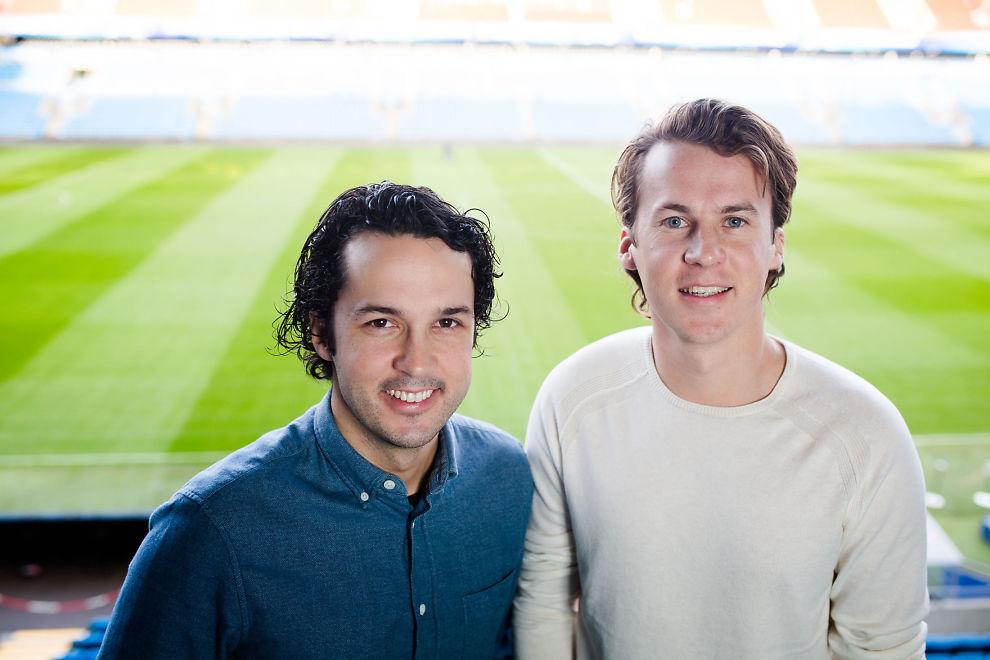 FORSVINNER: Brødrene Vegar og Bård Ylvisåker er blant de som forsvinner fra nesten halvparten av norske TV-skjermer. Her under Discovery Networks' presentasjon av vårprogrammet 2016 på Ullevaal Stadion.