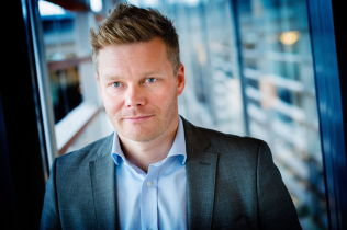 <p>I STRID: Tormod Sandstø, pressekontakt i Telenor for Canal Digital.</p>