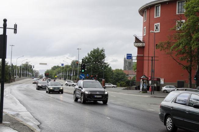 <p>TRONDHEIM: Bomringen har ført til færre biler i sentrum.</p>
