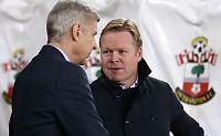 Wenger og Koeman i bråk etter 0-0-kampen