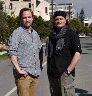 <p>VG PÅ KYPROS: Rune Thomas Ege og Harald Henden.</p>