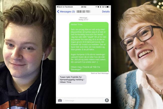 Flirter han over sms