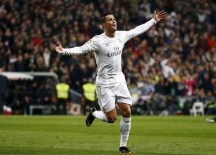 pML, ML, ML: Real Madrid har ikke hatt en spesielt god sesong, men har scoret nesten tre ml pr. kamp i snitt likevel. Ronaldo har sttt bak 19 av dem, tre kom i 6-0-seieren mot Espanyol, som dette bildet er fra.Foto: REUTERS/p