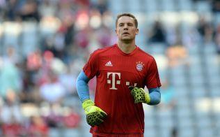 pMYE FRITID: Bayern-keeper Manuel Neuer. Foto: AFP/p
