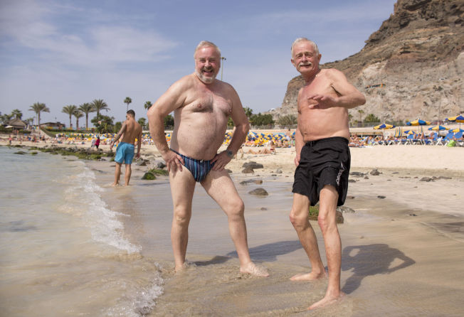 <p>– IKKE HARRY: Meldingen fra Tor Ivar Prytz (62) til kronkkforfatter Sanna Sarromaa er klar: Det er tull! Til venstre: Tor Egil Bjørgum (62). Foto: ANNEMOR LARSEN/VG</p>