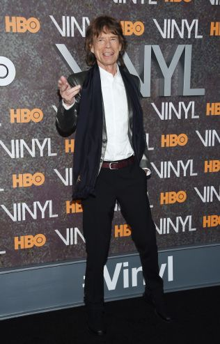 <p>HEDRER VENNEN: Mick Jagger. Foto: AFP<br/></p>