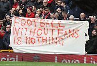 Krisemøte i Liverpool etter tilskuerprotest