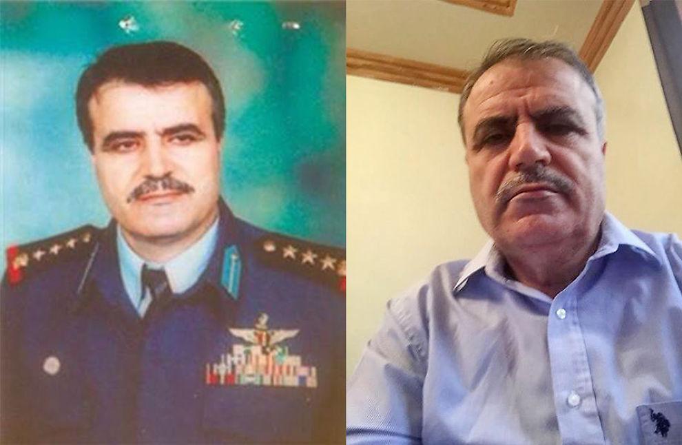 <p>FRA OBERST TIL OPPRØRSLEDER: Asaad al-Zoubi var før 2011 oberst i det syriske luftforsvaret. Så hoppet han av. Syrias luftforsvar bomber nå opprørerne al-Zoubi representerer. VG snakket med han over internett fra hans base i Saudi-Arabia (t.h).</p>