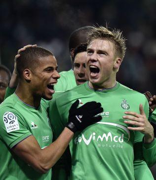 <p>SCORET TO: Alexander Søderund harscoret to mål på sine fem første kamper i St. Etienne.<br/></p>