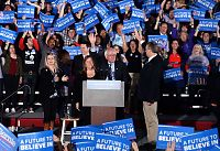 Trump og Sanders vant klart i New Hampshire