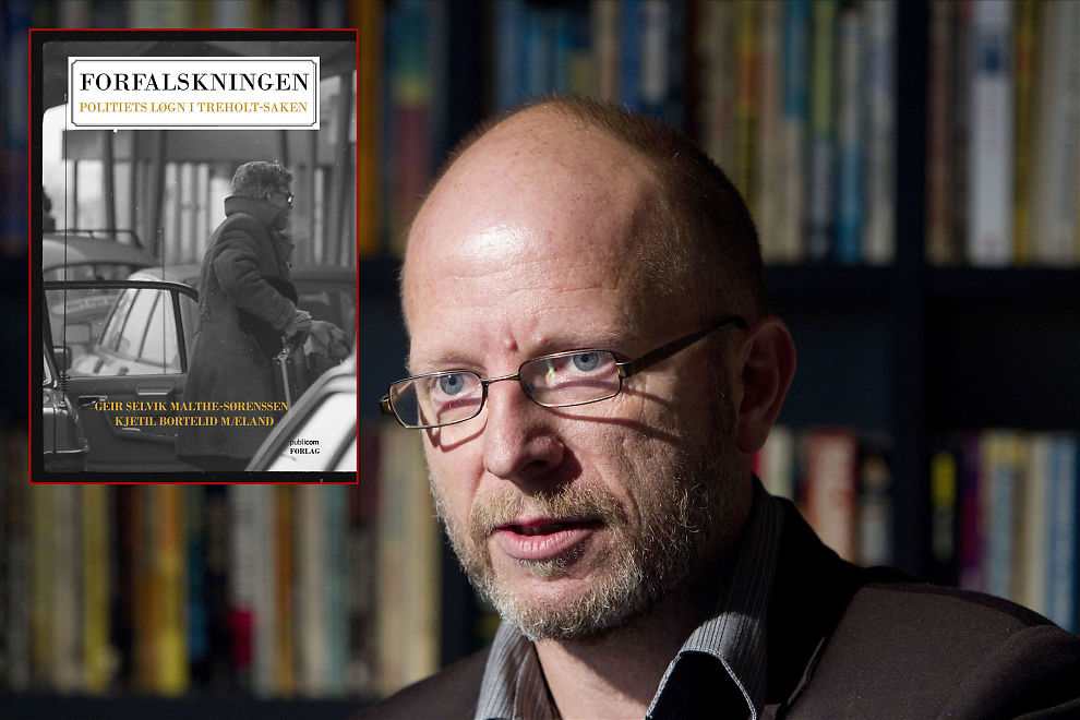 <p>SKAPTE STORM: Forfatter Geir Selvik Malthe-Sørenssens bok «Forfalskningen» skapte store overskrifter om mulig bevisjuks i Treholt-saken. Gjenopptakelseskommisjonen mente det ikke fantes grunnlag for påstandene.</p>