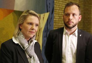 <p>VRIEN DEBATT: Listhaug kunne ikke svare SVs Audun Lysbakken konkret om hvorfor asylretur til Russland er trygt.</p>