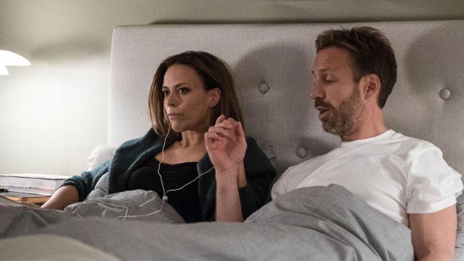 <p>ALLE FÅR SE: Ine Jansen og Thomas Giertsen i «Helt Perfekt», som har premiere søndag.</p>