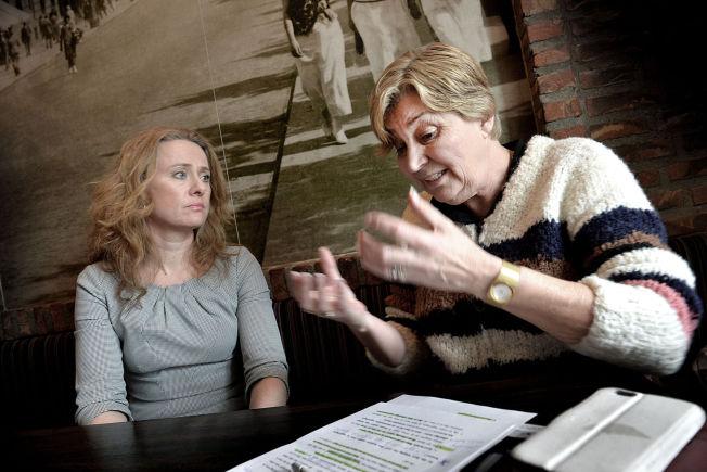 <p>SIRUP: LO-leder Gerd Kristiansen anklager arbeidsminister Anniken Hauglie for å gå i sirup.</p>