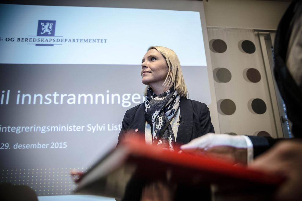 <p>ROMJULSPAKKEN: Bare dager etter at hun ble innvandrings- og integreringsminister la Sylvi Listhaug (Frp) frem en lang liste over forslag til innstramminger.</p>