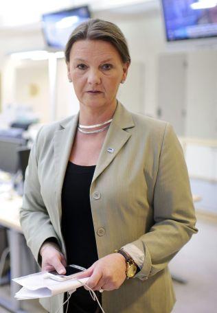 <p>AVVISER: Ingjerd Schou, innvandringspolitisk talsperson i Høyre, mener amnesti er et feilgrep.<br/></p>