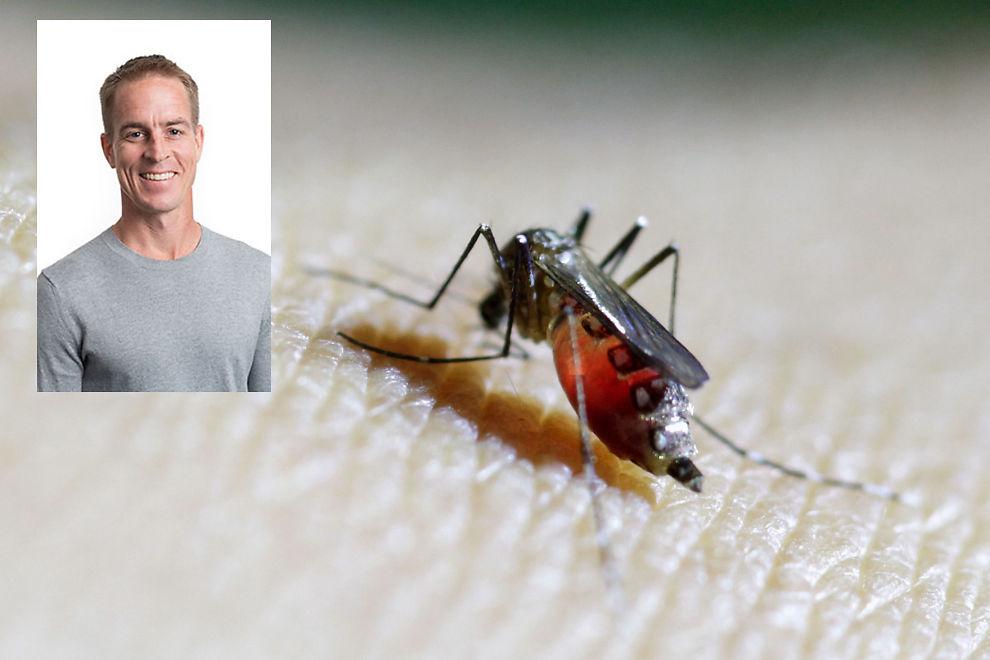 <p>SMITTET: Brian Foy fra Colorado fikk zika-viruset på en studietur i Senegal i 2008. Da han kom hjem, smittet han sannsynlivgvis sin kone Joy.</p>