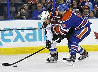 Avalanche vant borte mot Oilers
