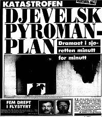 Inspektør om «Scandinavian Star»-brannen: – Det var sabotasje