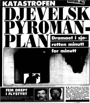 <p>VGs forside 14. aril 1990.</p>