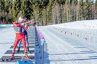 Norsk gull i mixed stafett