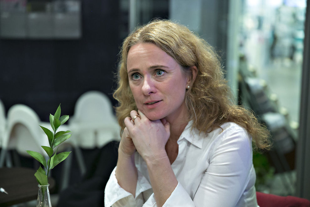 <p>ETTERLYSER RYDDESJAU: Arbeidsminister Anniken Hauglie (H) mener det er store rom for forbedringer i Nav-systemet.</p>