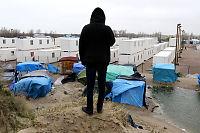 Flyktninger jages ut av «jungelen» i Calais