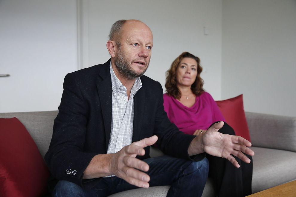 <p>LEDER AN: Norsk Industri-leder Stein Lier-Hansen skal lede an årets forhandlinger med LOs Fellesforbundet på andre siden av bordet. Her sammen med NHO-sjef Kristin Skogen Lund.</p>
