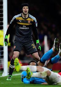 Messi-dobbel da Cech måtte gi tapt