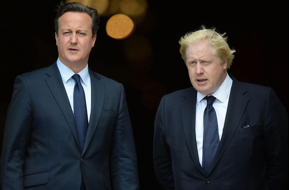 <p>JA ELLER NEI: Statsminister David Cameron ønsker at Storbritannia skal ha en spesiell status i EU, mens Londons ordfører Boris Johnson vil ha landet ut av EU.</p>
