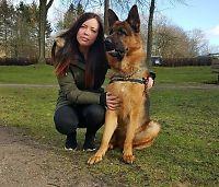 Michelle (20): Ble forsøkt ranet - reddet av hunden Kato (2)